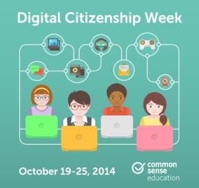 Digital Citizenship Week: October 19 – 25,2014