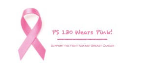 School Spirit: Wear Pink!