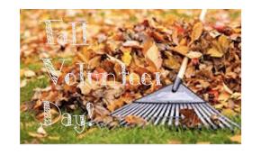 Volunteer Saturday, November 15 to Help Spruce Up OurSchool!