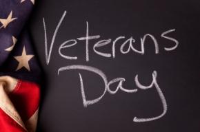 School's Closed: Veteran's Day – Tuesday, November 11,2014