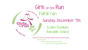 Girls on the Run 5K Fun Run: Sunday, December 7th
