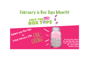 February is Box Tops Month!