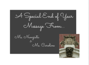 End of YearMessage