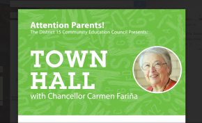 Town Hall with Chancellor Carmen Fariña