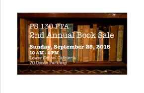 2nd Annual Book Sale