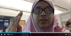 Hour of Code: 15 seconds with Samiya