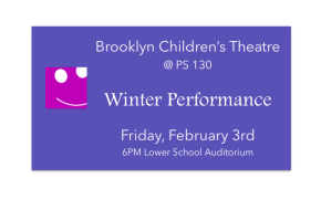 BCT @ PS 130Performance