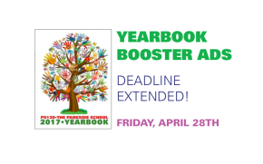 Yearbook Booster Ads: Deadline Extended!
