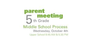5th Grade ParentMeeting