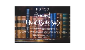 Third Annual Used BookSale